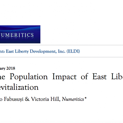 Population loss East Liberty ELDI