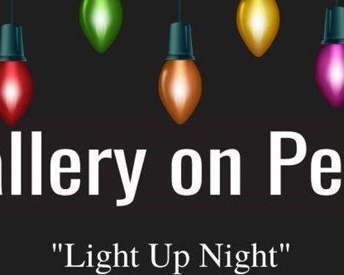 Gallery on Penn_Light Up Night