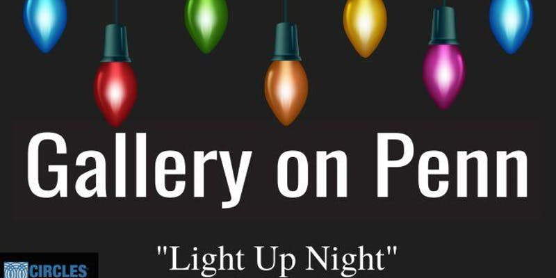 Gallery on Penn_Light Up Night