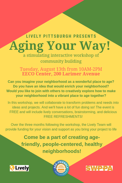 Aging Your Way Pittsburgh Event
