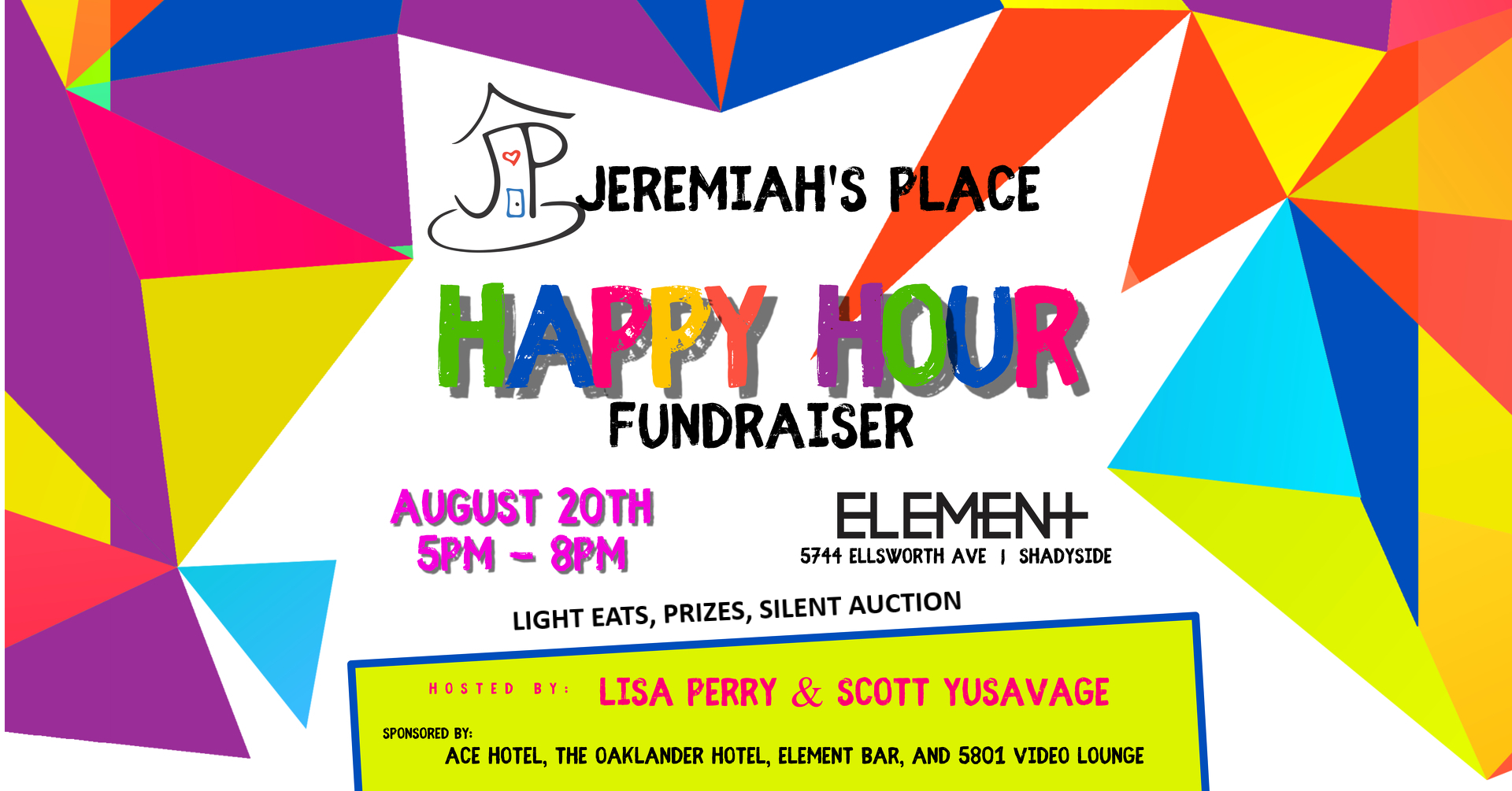 Jeremiah's Place Fundraiser East Liberty